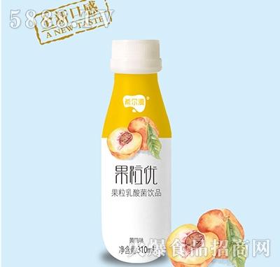 希尔漫果粒优果粒乳酸菌饮品黄桃味310ml