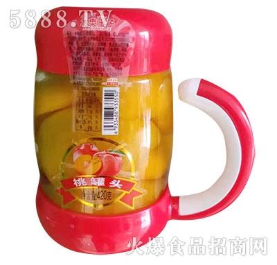 水果王子桃罐头420g
