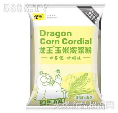 龙王玉米浓浆粉480克