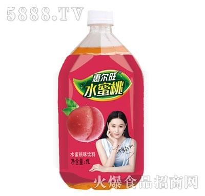 惠尔旺水蜜桃桃味饮料