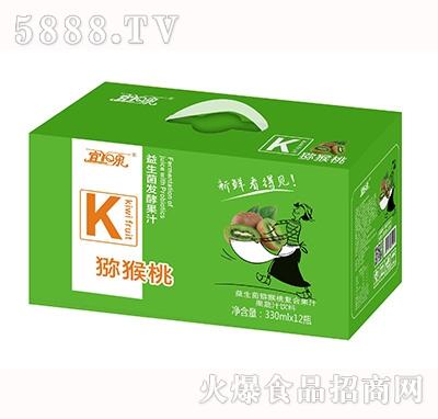 宜泉益生菌猕猴桃复合果汁饮料330mlx12瓶