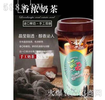 达利园乳业香浓奶茶400ml