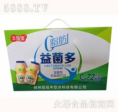 牛加加益菌多发酵型乳酸菌饮品100ml×20瓶
