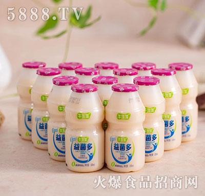 牛加加益菌多发酵型乳酸菌饮品100ml瓶装