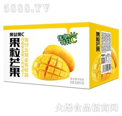 果益果C果粒芒果果汁500mlx15