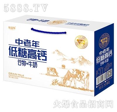 味益纯中老年低糖高钙谷物牛奶