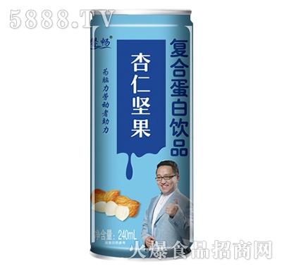 馨畅杏仁坚果蛋白饮品240ml