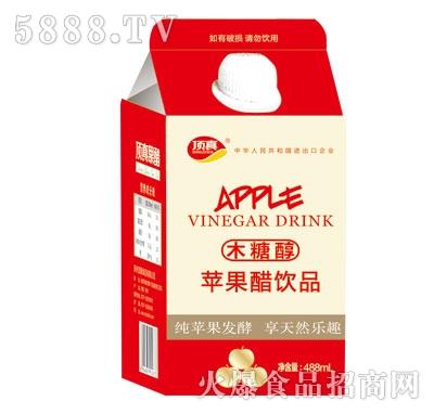 顶真木糖醇苹果醋饮品488ml