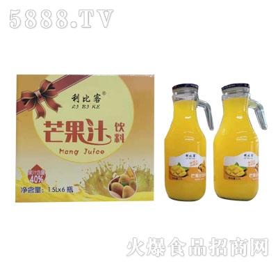 利比客芒果汁饮料1.5LX6