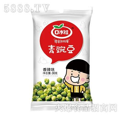 口水娃青豌豆香辣味30g袋装产品图