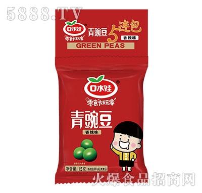 口水娃青豌豆香辣味15g产品图