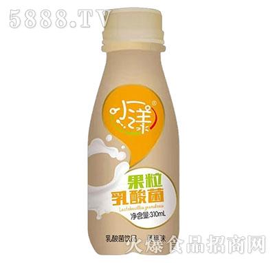 小漾果粒乳酸菌黄桃味310ml