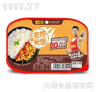 旺福王自热米饭宫保鸡丁330g