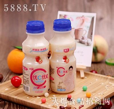 虎润优C优E草莓味乳酸菌饮品340ml