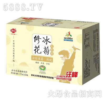 修花云台冰菊枸杞植物饮料375mlX24