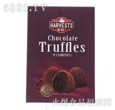 哈时手工松露巧克力160克红产品图