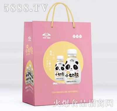 小奶熊芒果奶昔乳酸菌饮品