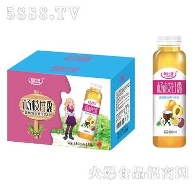 粒汁健杨枝甘露黄桃复合果汁饮料380mlX15