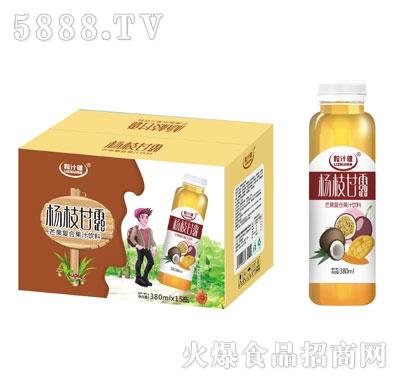 粒汁健杨枝甘露芒果复合果汁饮料380mlX15
