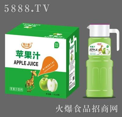 粒汁健苹果汁1.5LX6