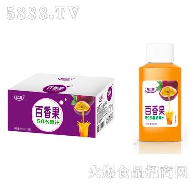 粒汁健百香果50%果汁350mlX15