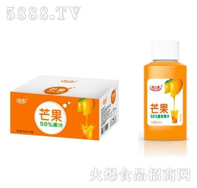 粒汁健芒果50%果汁350mlX15