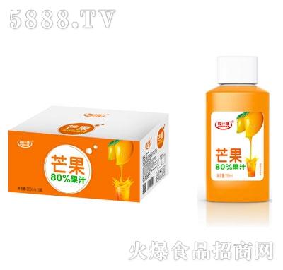 粒汁健芒果80%果汁350mlX15