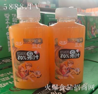 粒汁健80%果汁哈密瓜350ml