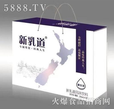 新乳道风味饮料250mlX12盒