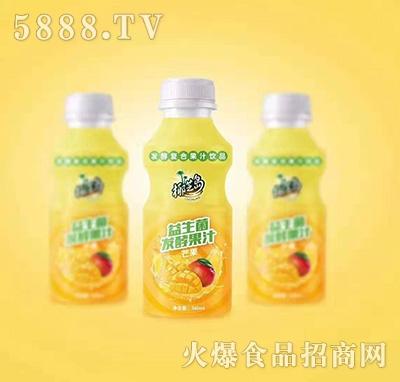 椰汁岛益生菌发酵芒果果汁340ml