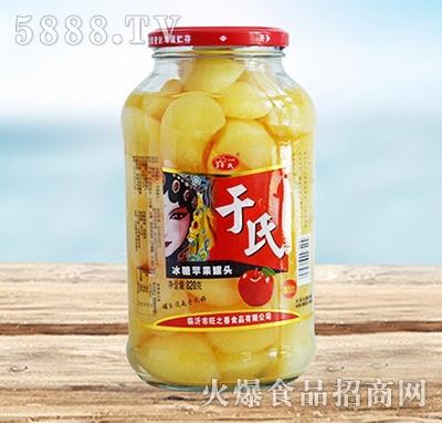 于氏冰糖苹果罐头820g