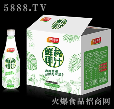 路易椰露鲜榨椰汁1.25Lx6