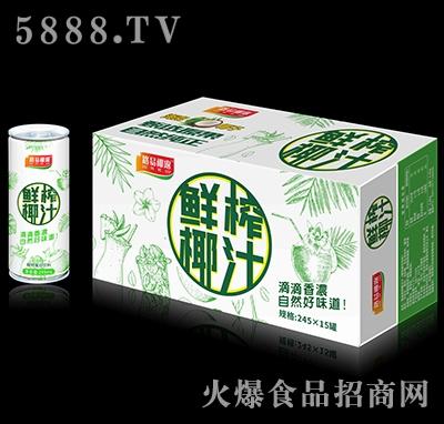 路易椰露鲜榨椰汁245mlx15产品图