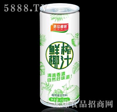 路易椰露鲜榨椰汁245ml产品图