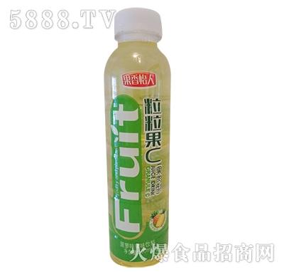 果香怡人粒粒果C菠萝味果味饮料500ml