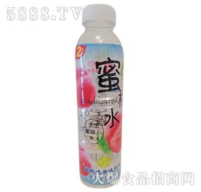 果香怡人蜜桃味果味饮料500ml
