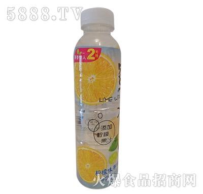 果香怡人柠檬味果味饮料500ml