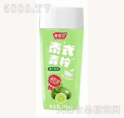 哥斯拉泰式青柠果汁饮料390ml