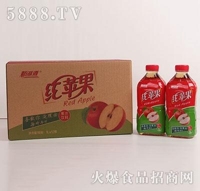 新湖源红苹果汁1Lx12瓶