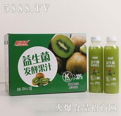 新湖源益生菌发酵猕猴桃汁500mlx15瓶