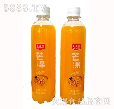美滋湖芒果果汁饮料480ml