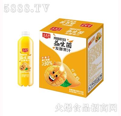美滋湖益生菌发酵型复合芒果汁1.25L