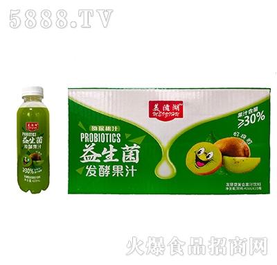 美滋湖益生菌发酵猕猴桃汁428mlx15瓶