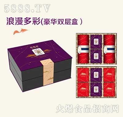花花牛浪漫多彩(豪华双层盒)月饼
