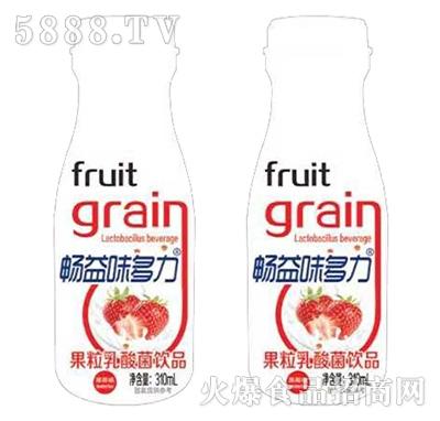 畅益味多力果粒乳酸菌草莓味310ml产品图