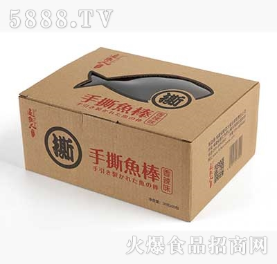追鱼人手撕鱼棒香辣味30g×20包产品图