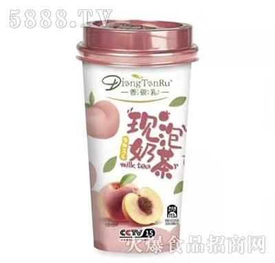 香碳乳现泡奶茶蜜桃味113g