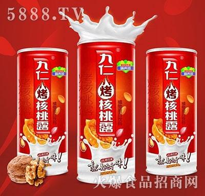 九仁烤核桃露植物蛋白饮料