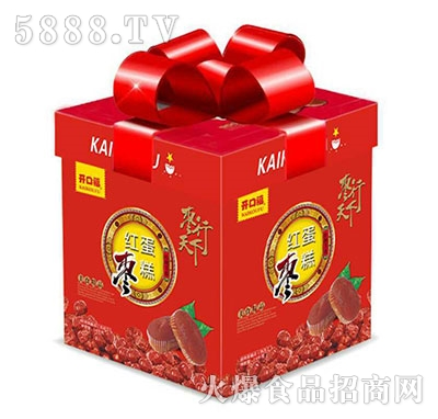 开口福枣行天下红枣蛋糕礼盒