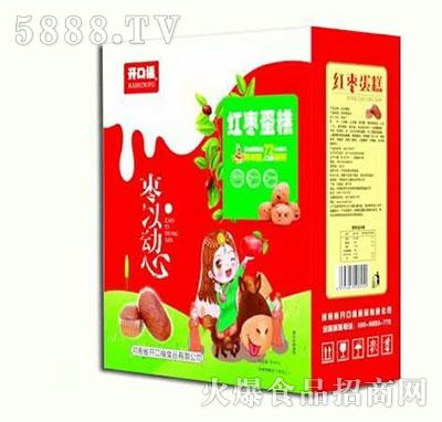 开口福枣一动心红枣蛋糕礼盒